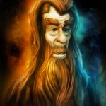 Gandalf - Ian McKellen Caricature