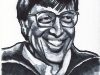 Bill Gates Old Portrait Caricature