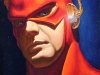The Flash 01 Oil Portrait Painting