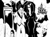 Addams Family Illustration