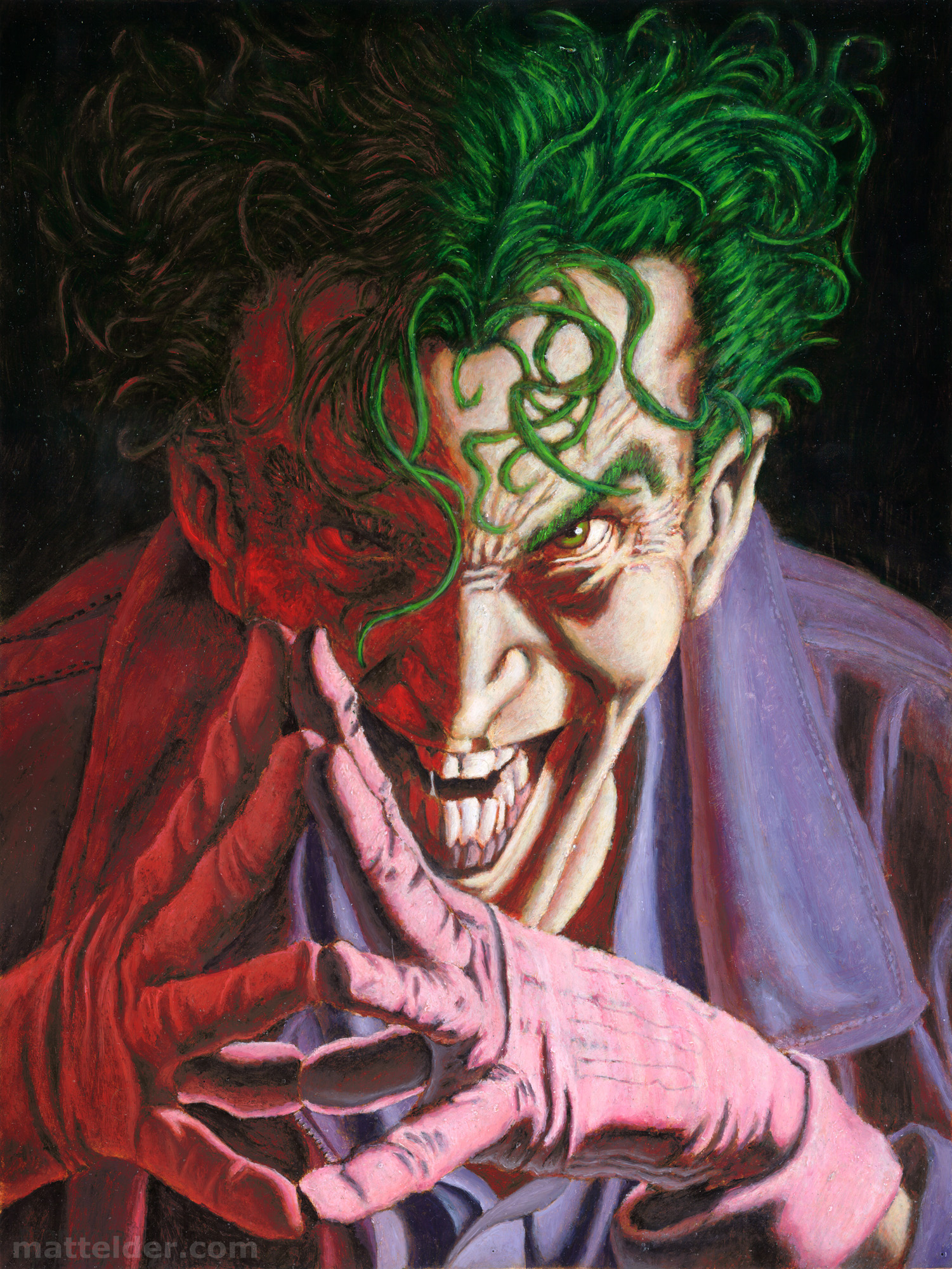 Joker Pin-up