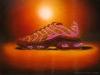 Running Against the Sun Shoe Still Life Oil Painting
