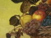 Caravaggio: Still Life with a Basket of Fruit Transcription Portrait Oil Painting 