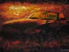 My Second Toy - BMW Z4 Car Oil Painting