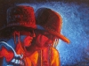 The Sunny Cowgirls - Oil Portrait Painting