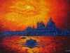 Venice (Small Version) - Landscape Oil Painting