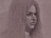 Gemma Portrait Pencil Sketch