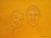 Wedding Anniversary Portrait Commission Gift From Photograph