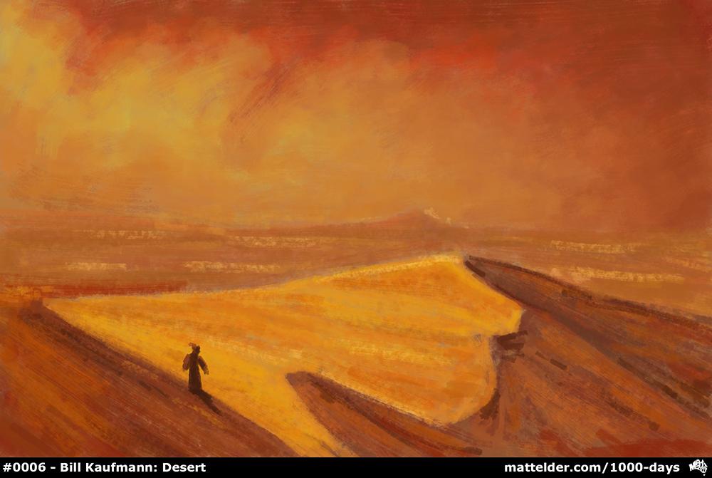 0006 Bill Kaufmann, Desert