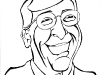 Bill Gates Angel Caricature