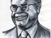 John Howard 3 Quarter Caricature