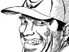 Arnold Schwarzenegger With Baseball Cap Caricature