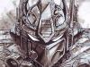 Optimus Prime Transformer Marker Sketch