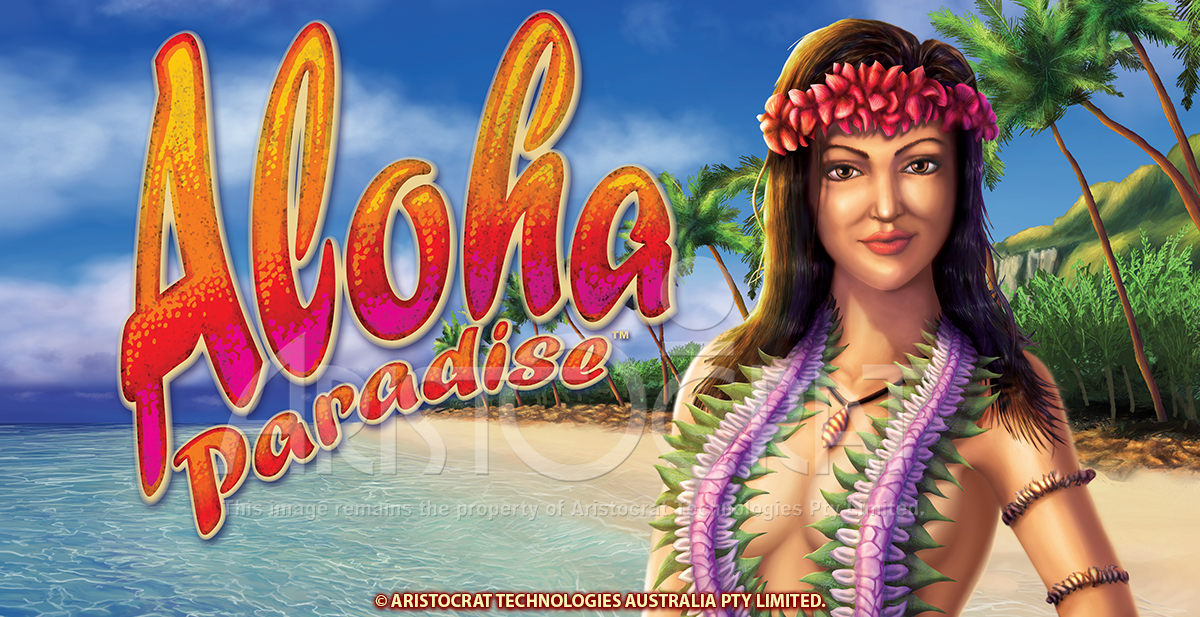 Aloha Paradise Slot Pokie Fruit Machine Personality