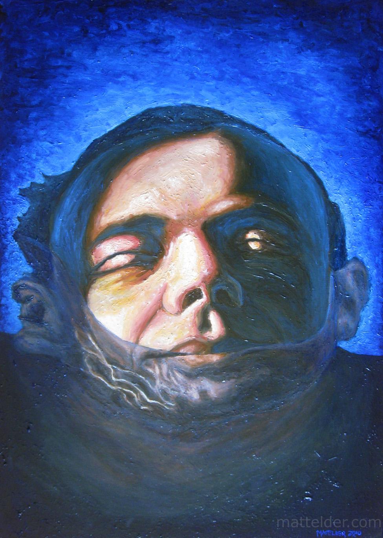 Good Morning - Self Portrait Oil Painting