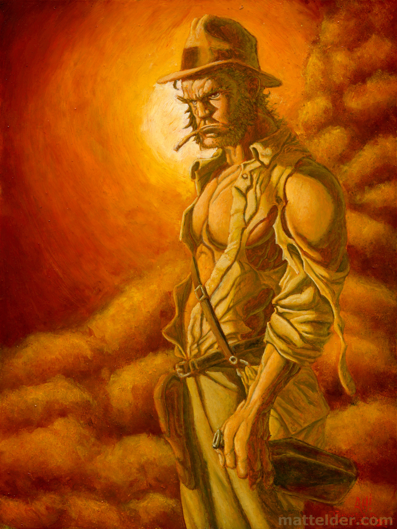 Wolverine as Indiana Jones