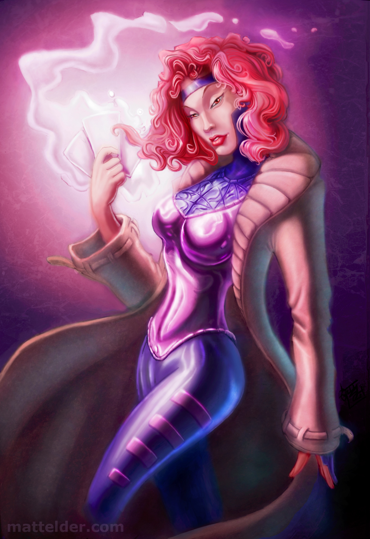 Female Gambit Digital Painting