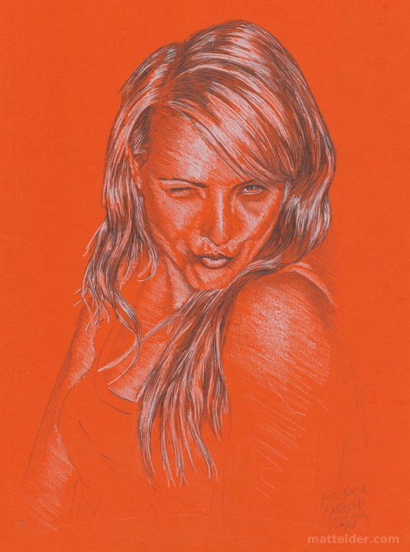 Daughter - Pencil Portrait Drawing