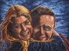 Ah Isn\'t That Cute?! Oil Portrait Painting