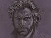 Hugh Jackman As Wolverine - Portrait Pencil Drawing