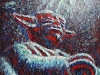 Yoda on Dagobah - Portrait Oil Painting