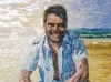 Peter Evans - Chef / Restaurateur / Television Personality - Oil Portrait Painting