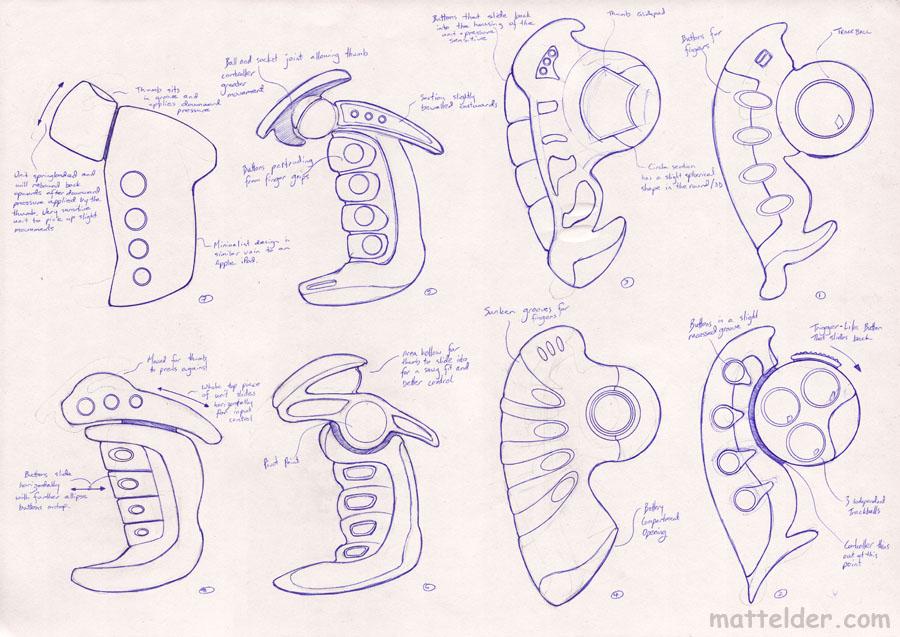 Universal Remote Control Concept Designs 1