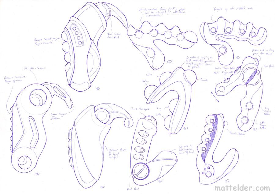 Universal Remote Control Concept Designs 2