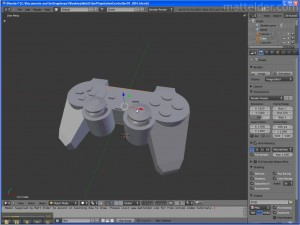 Introduction to Blender - PlayStation Controller Model