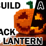 How to Make a LEGO Jack o Lantern Pumpkin Jr with FREE instructions Speed Build