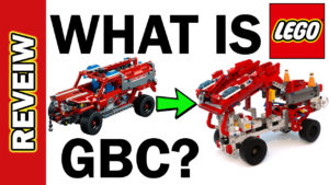 What is GBC LEGO? Fire Rescue First Responder 42075