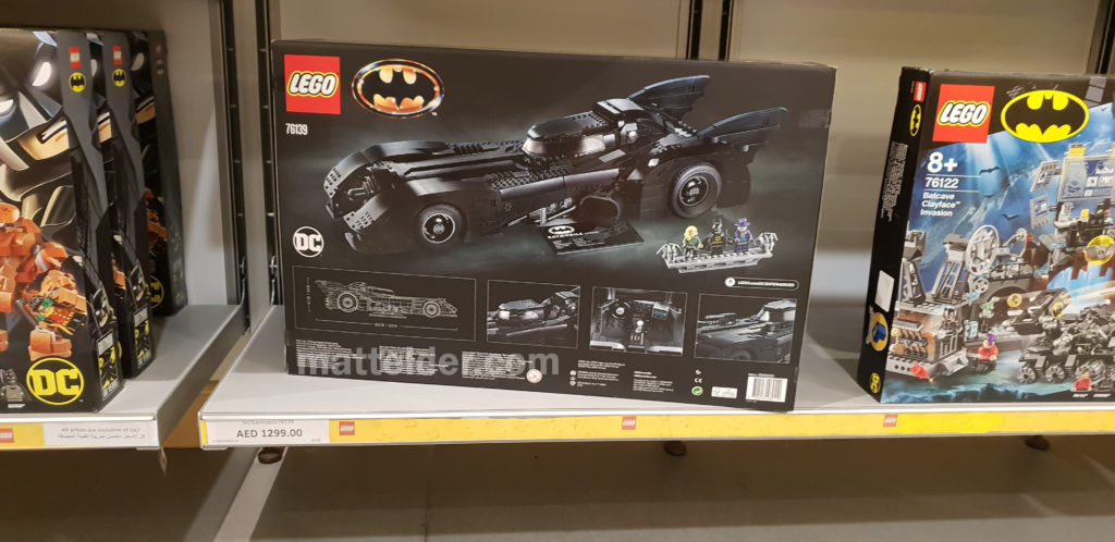 Lego Batmobile 1989 Back