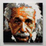 LEGO Mosaic Albert Einstein