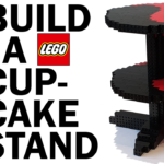 Video Thumbnail - How to Build Make a LEGO Cupcake Stand with FREE building instructions