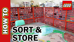 How to Sort and Store LEGO. Tips for Sorting & Storage Bins.