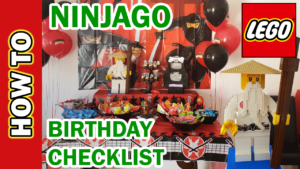 LEGO Ninjago Birthday Party. How to do & save hundreds on supplies, games, activities, bags, theme.