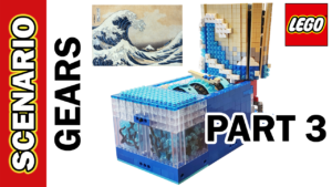LEGO Scenario: Gears, Tyres, Wheels, Name, Future Star Wars, London, Great Wave OFF Kanagawa Part 3