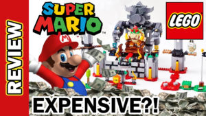 Video Thumbnail - LEGO MARIO Bowser Castle Expansion