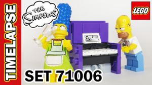 Video Thumbnail - LEGO Simpsons House Build Timelapse