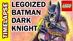 Video Thumbnail - LEGOized Dark Knight Returns Batman Timelapse