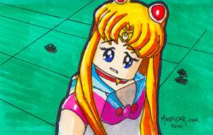 004 - Sailor Moon LEGOized Matt Elder 01