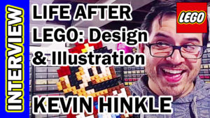 Video Thumbnail - 005 - Kevin Hinkle - Life After LEGO Illustration and Design