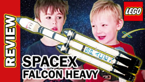 Video Thumbnail - LEGO SpaceX Falcon Heavy Rocket Review Speed build 01