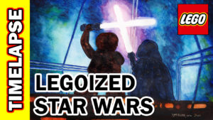 Video Thumbnail - LEGOized Luke Skywalker vs Darth Vader Empire Strikes Back Cloud City 01