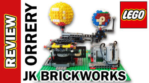 Video Thumbnail - Orrery Earth Moon Sun JKBrickworks