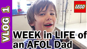 Video Thumbnail - 001 LEGO Week in Life of AFOL Dad