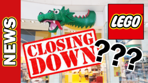 Video Thumbnail - LEGO Pick A Brick Wall Bluewater Closing Down - Can LEGO Shops Survive