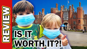 Video Thumbnail - Hampton Court Palace Castle UK Covid Reopening - Is it worth it