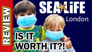 Video Thumbnail - Sea Life London Aquarium UK Covid Reopening - Is it worth it