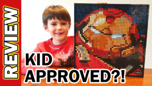 Video Thumbnail - LEGO Iron Man Mosaic Hulkbuster